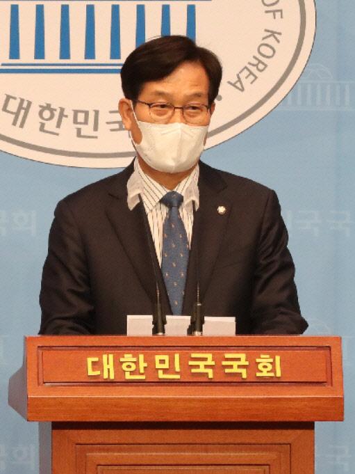 """민주당 최고위원 신동근 의원 """"최고위원직 사퇴…책임 통감"""""""
